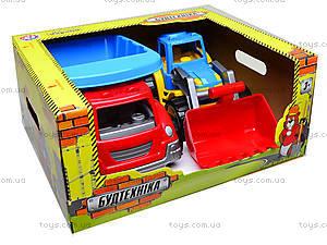 Набор машин «Стройтехника», 3459, іграшки