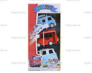 Набор инерционных машинок «Приключения Тайо», 30553, купить