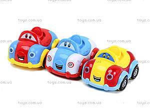 Набор инерционных машинок «Веселые ребята», 7766-5, детские игрушки