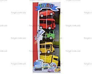 Набор машинок «Приключения Тайо», 5 штук, 30552, купить