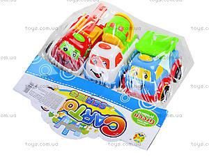 Набор машинок «Маленький строитель», 7769-5, игрушки
