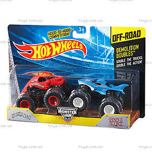 Набор машинок Hot Wheels серии «Monster Jam», X9017