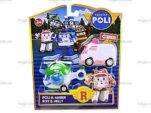 Набор игрушечных машинок «Робокар Поли», P1, фото