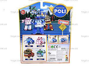 Набор машинок для детей «Робокар Поли», P2, фото