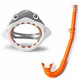 Набор маска+трубка 3-8 лет «Акула», 55944, магазин игрушек