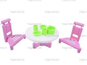 Набор мебели для дачи «Кристина», С-78-Ф, игрушки
