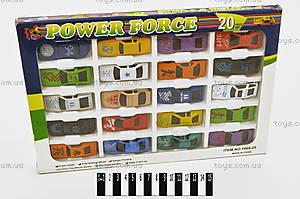 Набор металлических машин, 20 штук, 1969-20