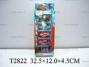 Набор металлических машин «Тачки», 98164