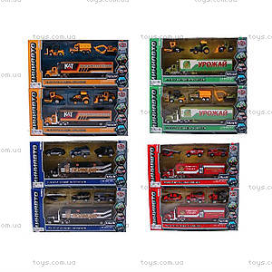 Набор металлических моделек, 4 штуки, 6386-1234