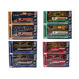 Набор металлических моделек, 4 штуки, 6386-1234, отзывы