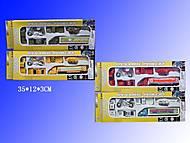 Набор металлических моделек, 6 штук, H36216(287927