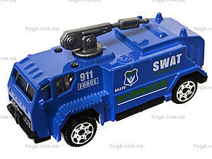 Набор металлических моделек «Полицейская техника», 6230, купить