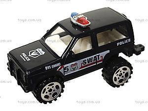 Набор металлических моделек «Полицейская техника», 6230, отзывы