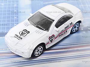 Набор металлических моделек «Полицейская техника», 6230, toys.com.ua