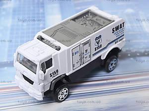 Набор металлических моделек «Полицейская техника», 6230, детский