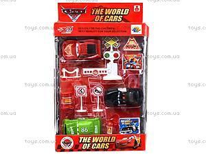 Набор металлических моделек «Тачки», 88036, детские игрушки