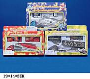 Набор металлических моделек «Транспорт», 4 штуки, 00625, фото