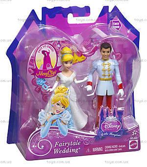 Набор мини-кукол Дисней «Сказочная свадьба», BDJ67