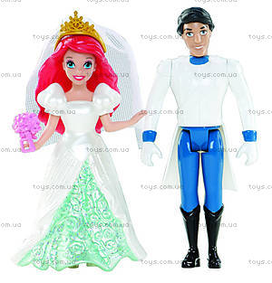Набор мини-кукол Дисней «Сказочная свадьба», BDJ67, фото