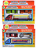 Игровой набор моделек транспорта, 927W3, фото