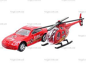 Набор моделек «Пожарная техника», 6232, купить