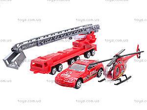 Набор моделек «Пожарная техника», 6232, фото