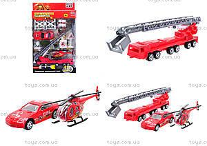Набор моделек «Пожарная техника», 6232