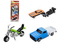 Набор разного игрушечного транспорта, 291927B, отзывы