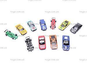 Набор моделек-спорткаров, 92753-36S