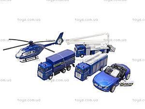 Набор моделей спецтехники, JL80172-5, цена