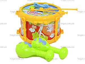 Детские барабаны в наборе, 1022-13B, отзывы