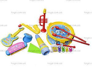 Набор музыкальных инструментов «Оркестр», 5517, детские игрушки