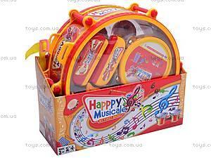 Набор музыкальных инструментов, детский, 6688H, игрушки