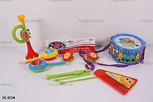 Набор музыкальных инструментов для детей, 441A/B