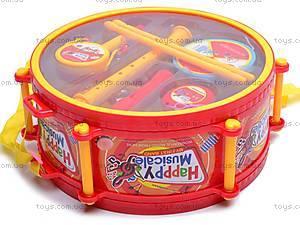Набор музыкальных инструментов, игрушечный, 6688F, игрушки