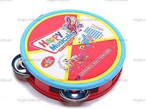 Набор музыкальных инструментов, игрушечный, 6688F, toys
