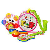 Набор музыкальных инструментов с бубном, гитарой , 2013C, купить
