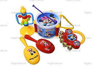 Набор музыкальных инструментов «Микки», 828-7A, цена