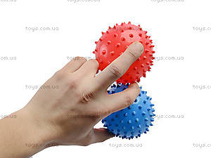 Набор мячиков «Ёжик», MA3-3B, детские игрушки