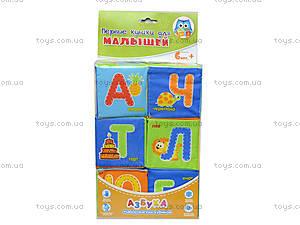 Набор мягких кубиков «Азбука», русский язык, VT1401-01, toys