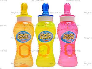 Набор мыльных пузырей «Бутылочка с соской», 760-6