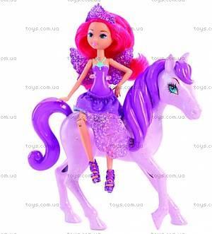 Набор «Мини-принцесса и Пегас» из м/ф «Барби: Марипоса та Принцесса фей», Y6377, купить