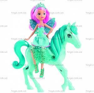 Набор «Мини-принцесса и Пегас» из м/ф «Барби: Марипоса та Принцесса фей», Y6377, фото
