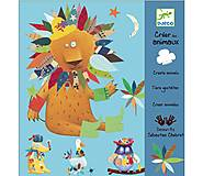 Набор наклеек для аппликации «Создай животное», DJ08932, отзывы