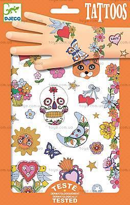 Набор наклеек на тело с блестками «Мексиканская фиеста», DJ09578