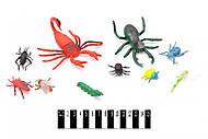 Набор насекомых игрушечных, F8244