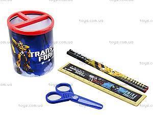 Набор канцтоваров настольный Transformers, TF13-205K, фото