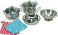 Набор нержавеющей посуды из 8 предметов, 83392, фото