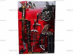 Набор «Ниндзя» с мечом, 8419