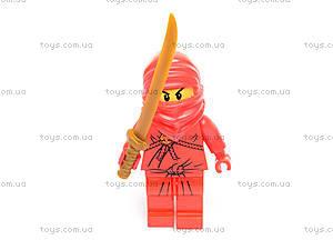 Игровой набор фигурок «Ниндзя», 5 героев, 6169, купить